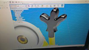 Minion hand in Fusion 360